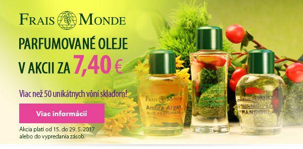 Každý parfumovaný olej za super cenu