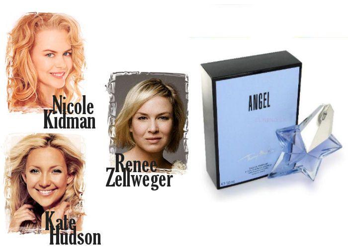 Nicole Kidman, Renee Zellweger a Kate Hudson sú pre zmenu na romantické parfumy. Thierry Mugler Angel EdP je tým pravým. Zoženiete ho na Elnino.sk