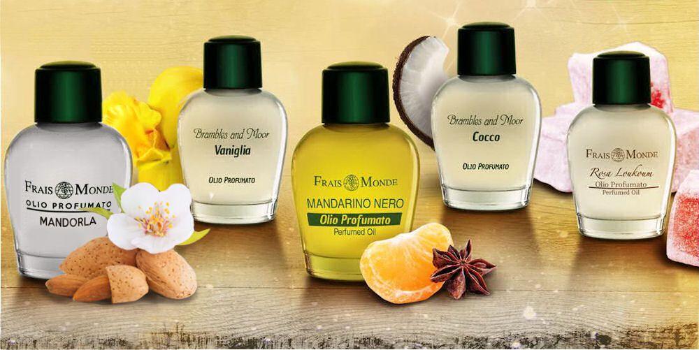 Gurmánske vône parfumovaných olejov Frais Monde