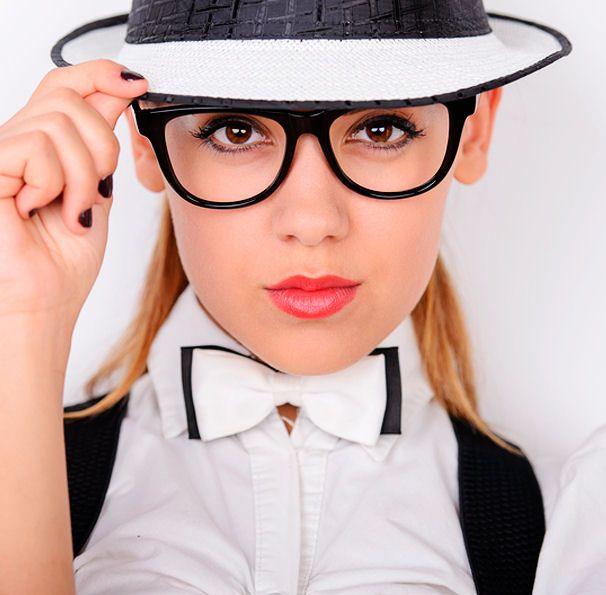 jednoduchý mejkap číslo 1 - vhodný pre nositeľky okuliarov