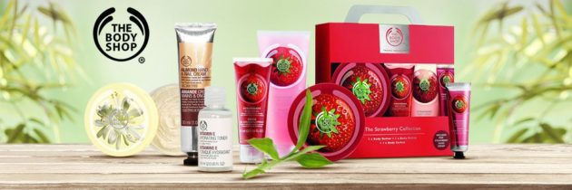Kozmetika The Body Shop #vegan #crueltyfree #parabenfree