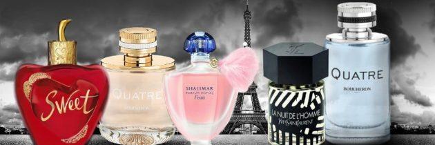 Nový parfum a Paríž je vždy dobrý nápad