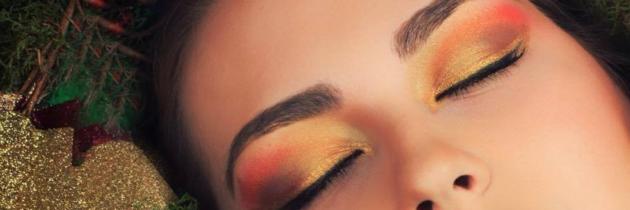 Očné linky vo farbách Vianoc (naše tipy)