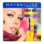 Set Maybelline s riasenkou Colossal Go Extreme a sexi ružovým lakom Colorama od Elnino.sk