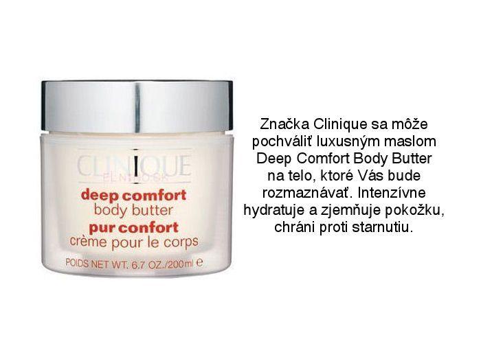 Clinique telové maslo Deep Comfort Body Butter z obchodu Elnino.sk
