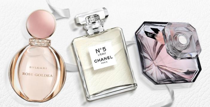 Posledne predstavené najlepšie parfumy Bvlgari, Chanel a Lancôme