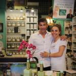 Milánsky obchod La Bottega a pani Agáta s Orestem