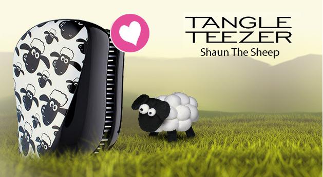 Tangle Teezer Shaun The Sheep kefa na vlasy