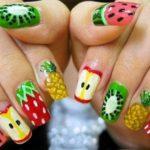 exotický nail art, zdroj: prettydesigns.com (http://bit.ly/1UDF80h)