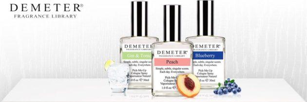 Demeter – vôňa ako príjemná spomienka