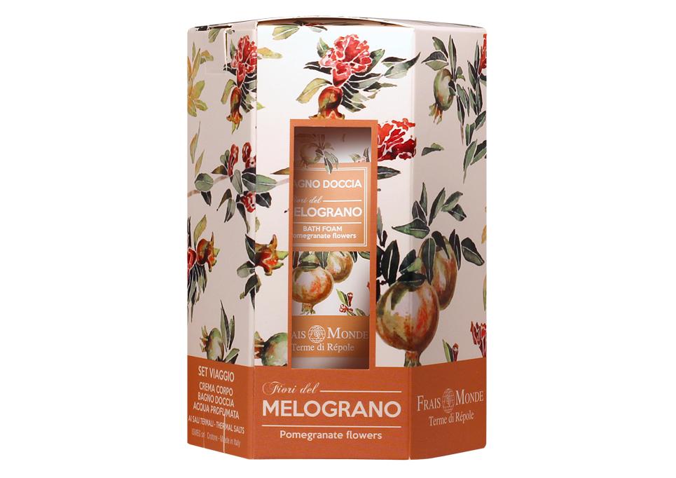Frais Monde cestovný set Pomegranate Flowers