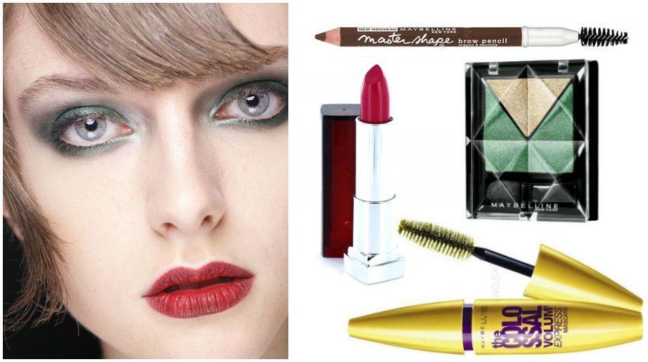 Líčenie s kozmetikou Maybelline podľa Elnino.sk