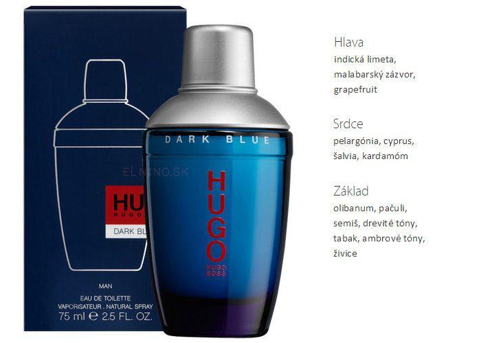 pánsky parfém Hugo Boss Dark Blue EdT od Elnino.sk