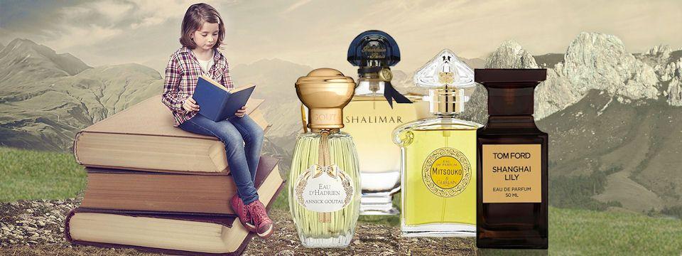 Príbeh parfumu ako z románu a v hlavnej úlohe parfumy Annick Goutal Eau d´Hadrien, Guerlain Shalimar, Guerlain Mitsouko a Tom Ford Shanghai Lily, všetky na Elnino.sk