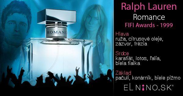 Parfumy v štýle 90-tych rokov: Ralph Lauren Romance v e-shope Elnino.sk