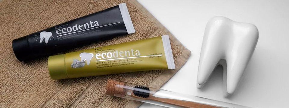 Ecodenta, zubné pasty so spojením prírody s vedou