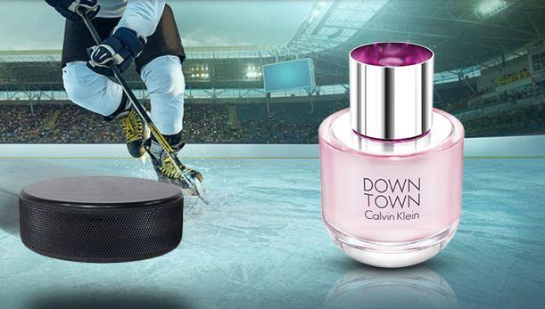 Hokej a elegantná rebelka Calvin Klein Downtown od Elnino.sk