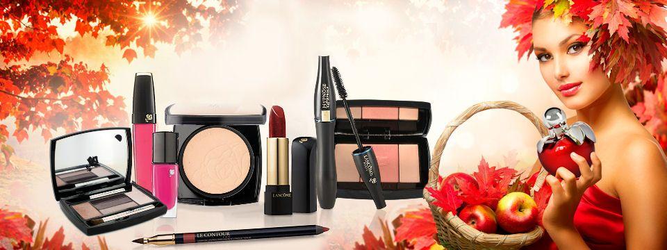 Jesenná romantika vo farbe a vôni - kozmetika a parfumy od Elnino.sk