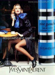 Reklama na Yves Saint Laurent Rive Gauche (1993), zdroj: http://bit.ly/1DuF3Ts
