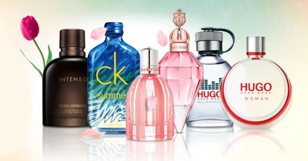 Novinky (zľava): Dolce & Gabbana Pour Homme Intenso (EdP), Calvin Klein CK One Summer 2015 (EdT), Chloe See by Chloe Si Belle (EdP), Katy Perry Spring Reign (EdP), Hugo Boss Hugo Music (Limited Edition), Hugo Boss Hugo Woman EdP