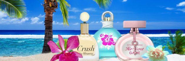 Tropický január s parfumami celebrít