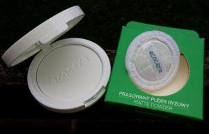 Ecocera Pressed Rice Matte Powder - kompaktný púder do kabelky
