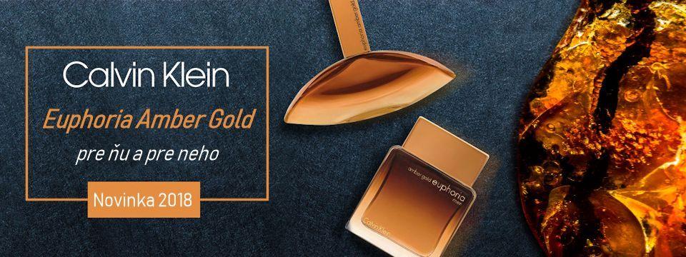 Euphoria Amber Gold - zlato severu u vás doma