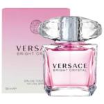 Versace Bright Crystal a nežné kvety s krištálikmi ľadu