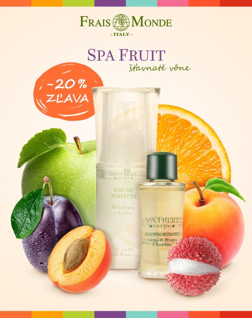 Šťavnaté vône SPA FRUIT do ZĽAVOU 20 %