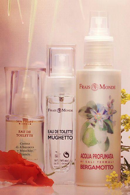 Letné vône Frais Monde Marhuľa a biele pižmo, Konvalinka a Bergamot