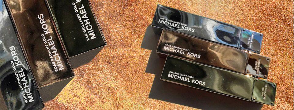 Michael Kors a jeho zlaté novinky