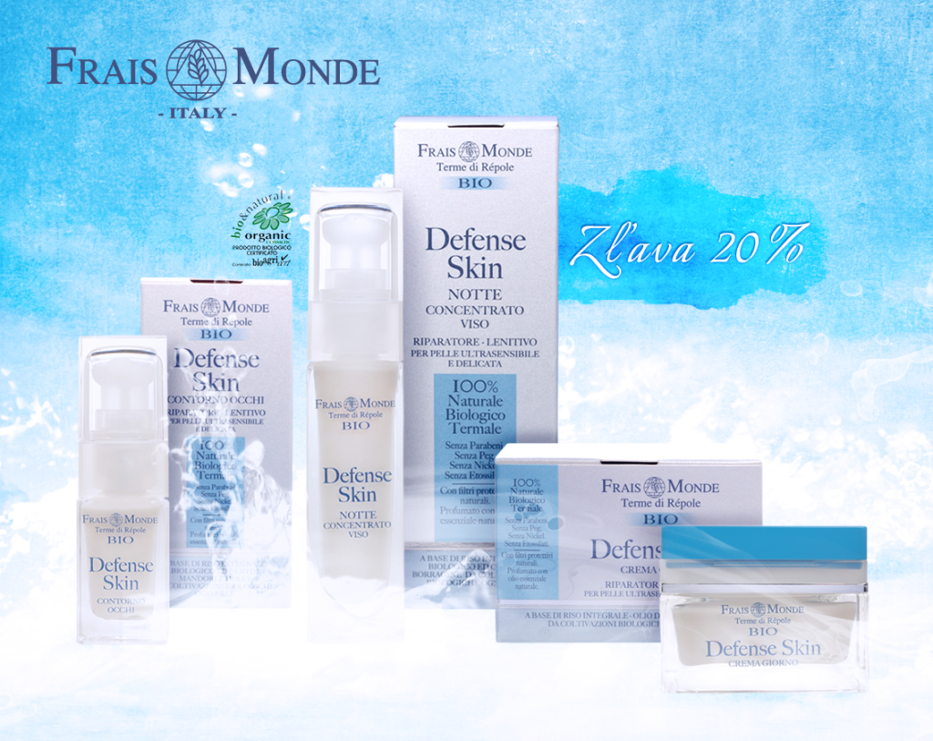 BIO termálna kozmetika Frais Monde v akcii na Elnino.sk