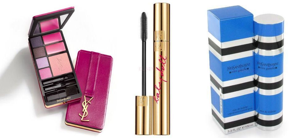Yves Saint Laurent Very YSL Make-up Palette, Mascara Volume Effet Baby Doll a parfum Rive Gauche