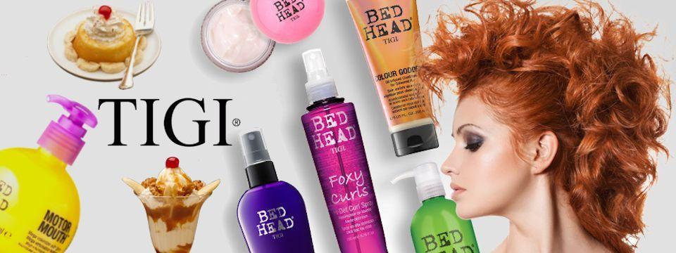 Kozmetika Tigi a Bed Head - dezert pre Vaše vlasy