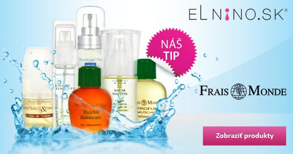 Parfumované oleje a toaletné vody Frais Monde len na Elnino.sk