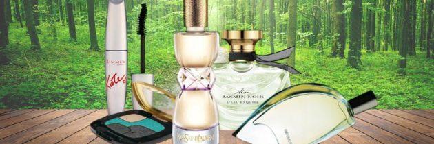 Zelená vôňa i kozmetika má zelenú
