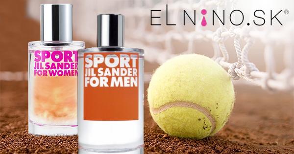 Lacné parfumy pre ňu i preňho Jill Sander Sport od Elnino.sk