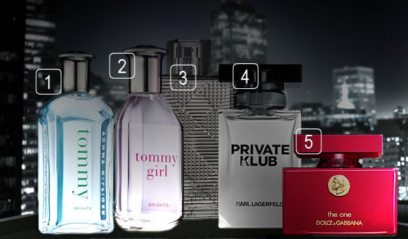 VIP vôňa od značiek Tommy Hilfiger, Burberry, Lagerfeld a Dolce & Gabbana všetky na Elnino.sk
