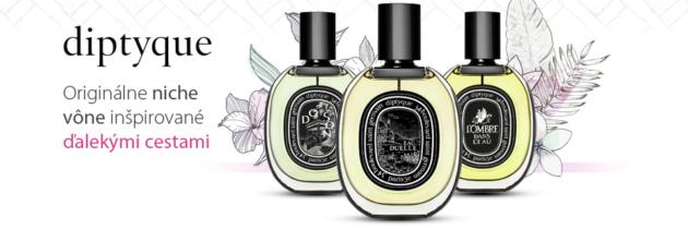 Diptyque niche parfumy a vôňa diaľok