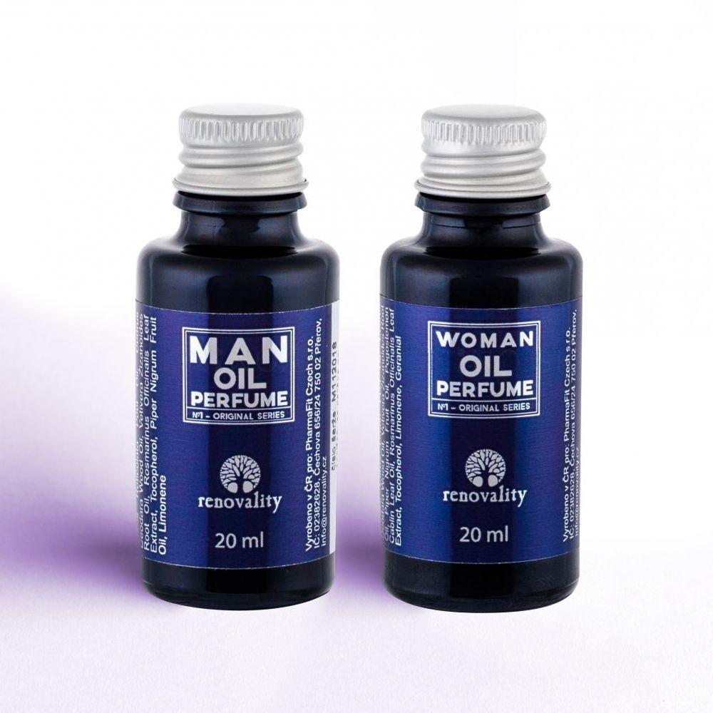 Renovality olejové parfumy