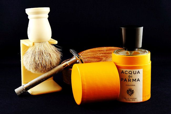 Potreby na holenie od našich otcov; Foto: davharuk (Shaving requisites); Zdroj: http://bit.ly/1yVLLMc
