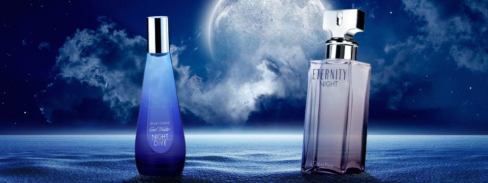 Noc a jej čarovná moc s vôňami Calvin Klein a Davidoff