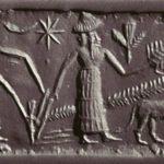 Obrábanie pôdy Sumermi; Autor: neznámy; Zdroj: Mesopotamianfods.com (http://bit.ly/1wg2ef0)