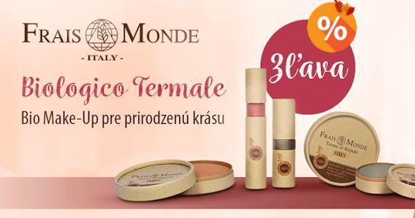 Kultové produkty BIO dekoratívnej kozmetiky Frais Monde