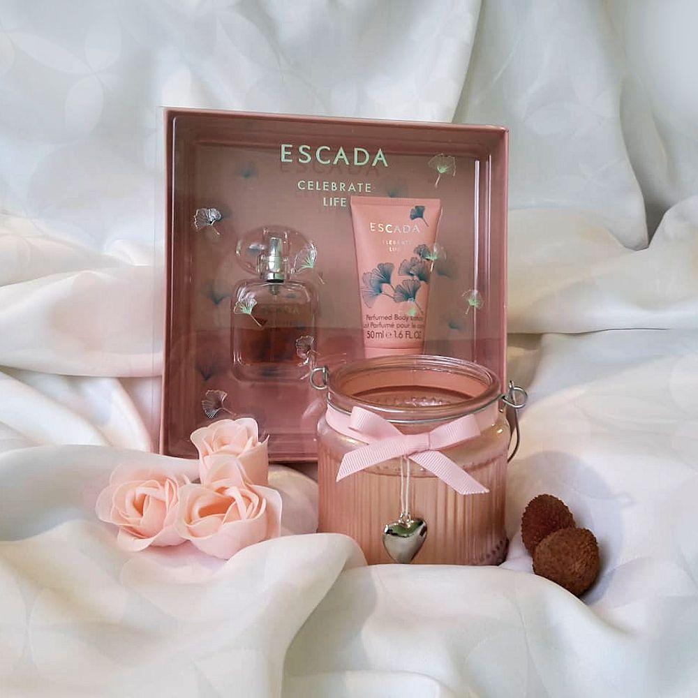 Darčeková kazeta Escada Celebrate Life