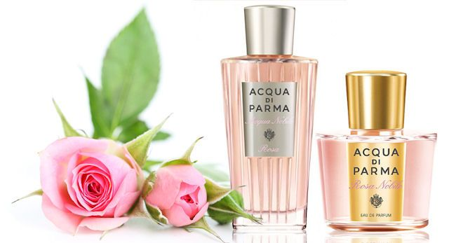 Ružové parfumy Acqua Di Parma Acqua Nobile Rosa a Rosa Nobile