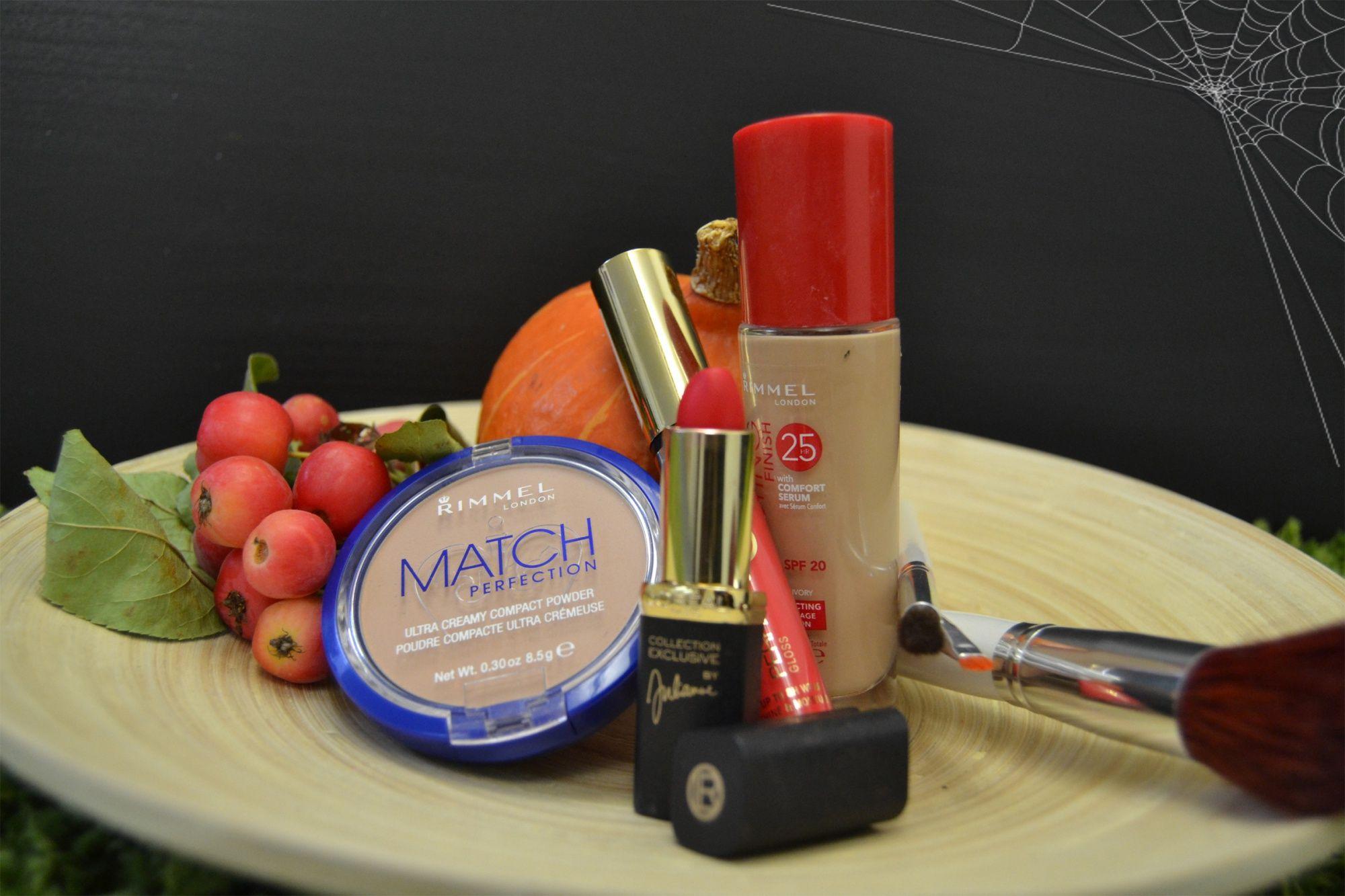 Premena na upíra a použitá dekoratívna kozmetika
