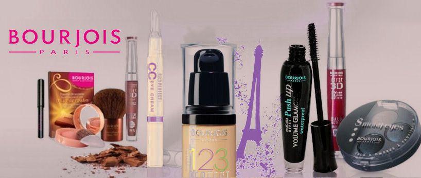 tradičná francúzska a predsa lacná kozmetika Bourjois