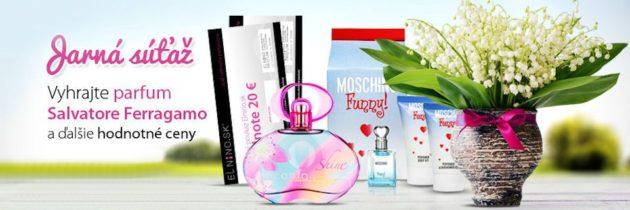 Jarná súťaž o parfumy a iné hodnotné ceny