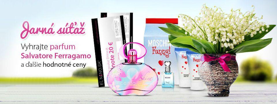 Jarná súťaž o parfumy a iné ceny